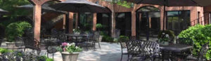 Patio at The Mews